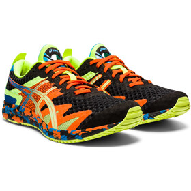 asics Gel-Noosa Tri 12 Scarpe Uomo, black/lime green
